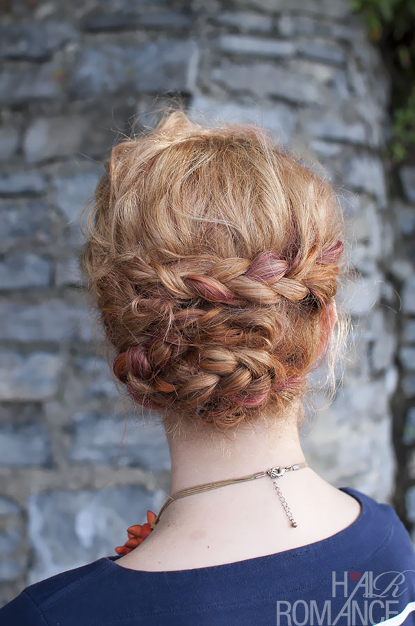 Hair Romance - braided updo
