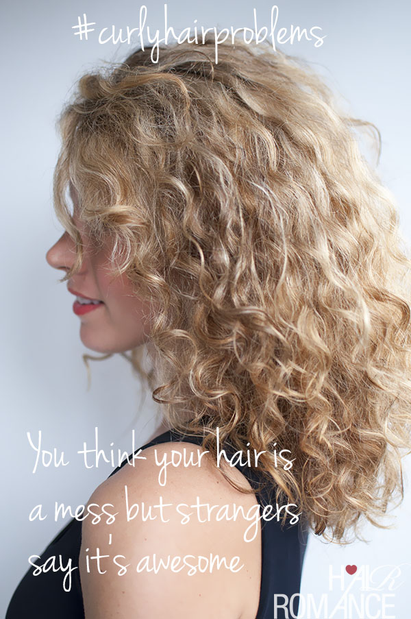 Hair Romance - curly hair problems