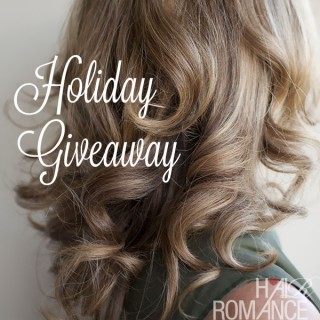 Hair Romance holiday giveaway