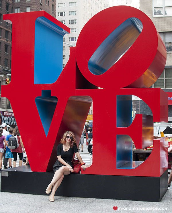 I love NYC - Mr and Mrs Romance
