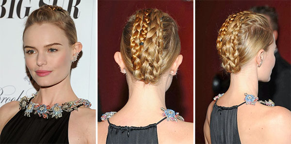 Kate Bosworth - braided updo