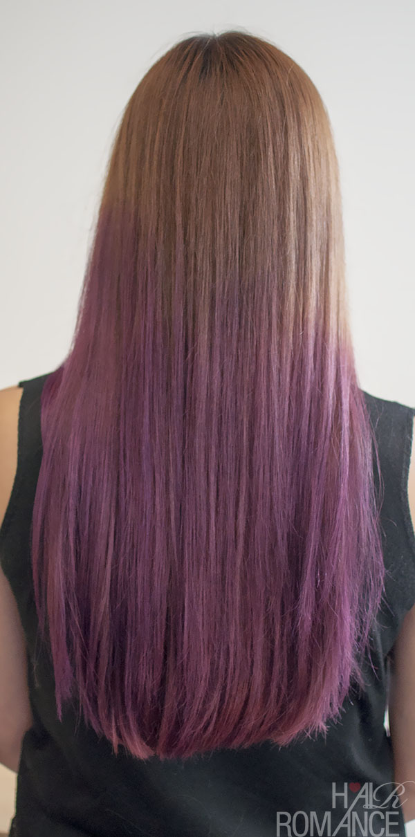 Hair Romance - beautiful purple ombre hair