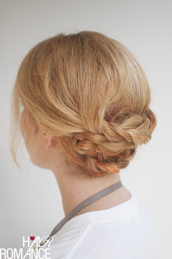 Hair Romance - braided upstyle