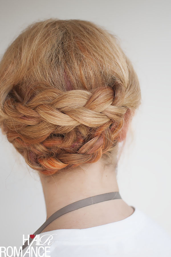 Hair Romance - easy braided updo