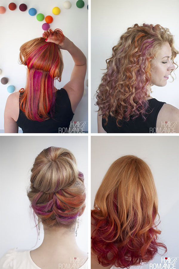Hair Romance - hair colour changes