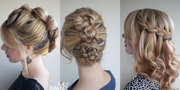 Hair Romance - holiday hair - 30 Braids in 30 Days