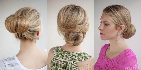 Hair Romance - holiday hair - 30 Buns in 30 Days