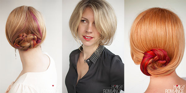 Hair Romance - holiday hair guide - formal party hairstyles