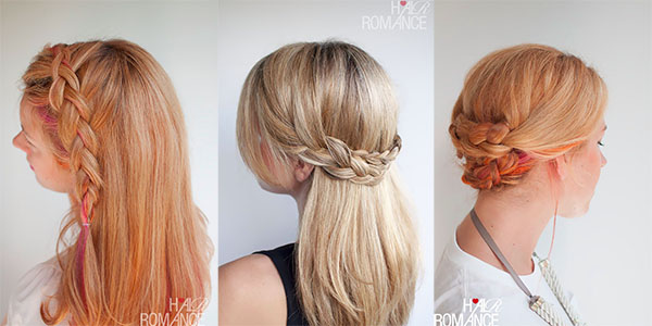 Hair Romance - holiday hair guide - party hairstyles