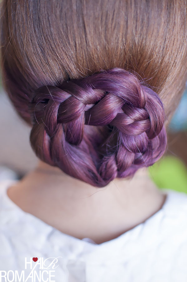 Hair Romance - purple hair - radiant orchid