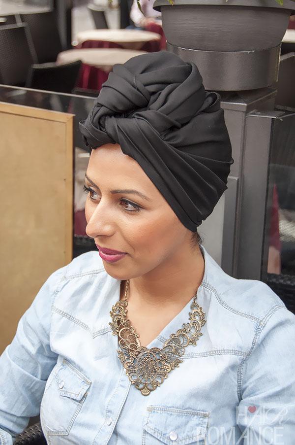 Hair Romance - street style hair Milan - turban 1