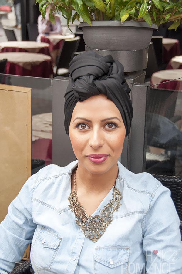 Hair Romance - street style hair Milan - turban 2