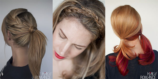 Holiday hairstyle guide - casual hairstyles