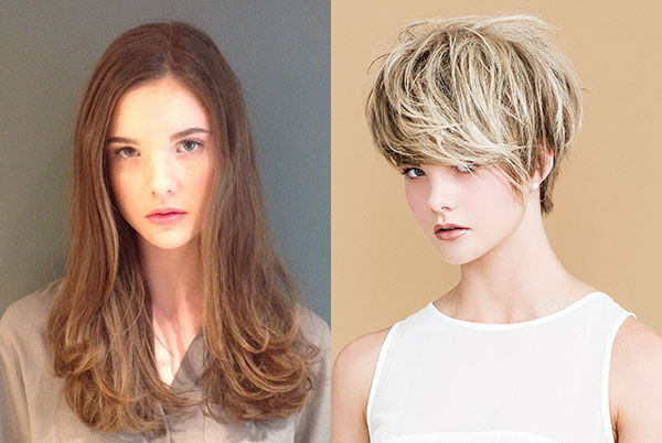 Short hair transformation - before and after - Muse Hair