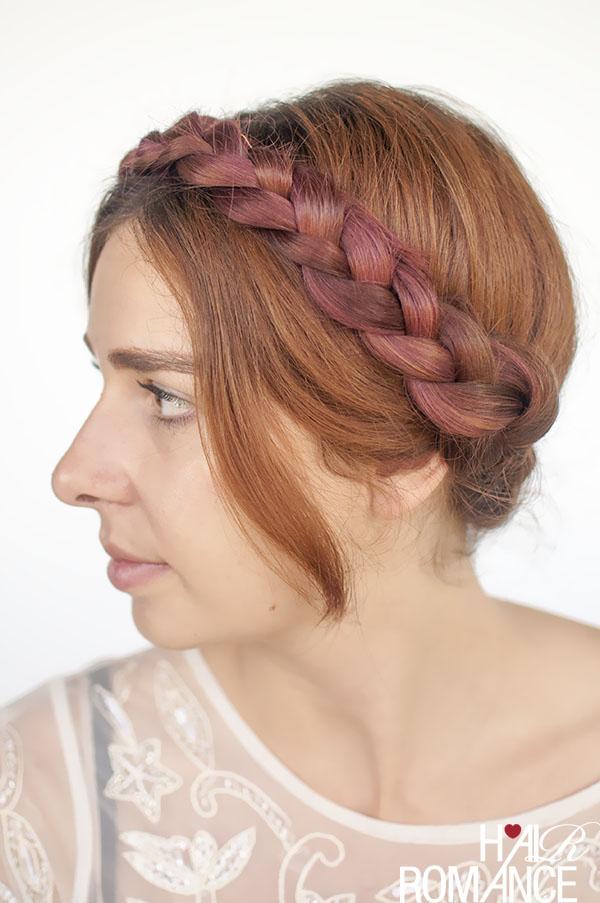 Hair Romance - modern milkmaid braids hairstyle