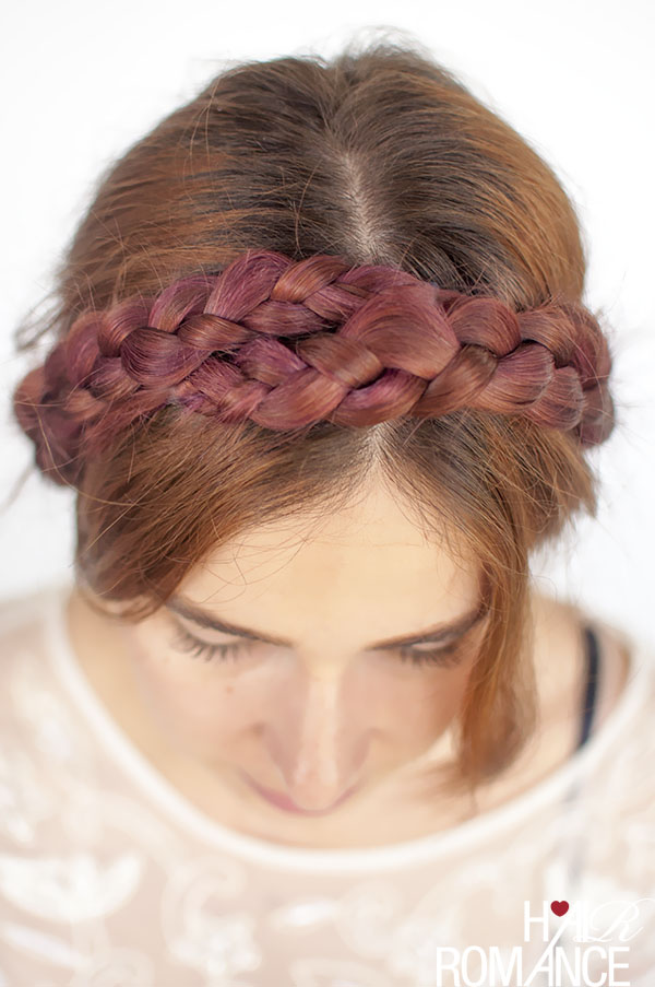 Hair Romance - the modern milkmaid braids hairstyle tutorial