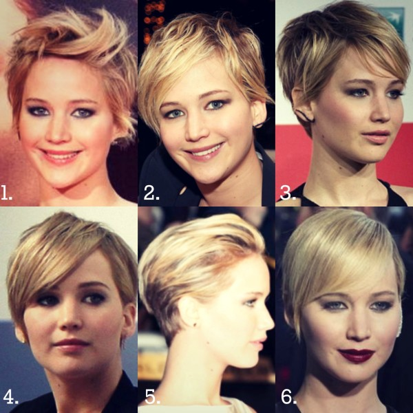 Jennifer Lawrence shows how to rock a pixie cut