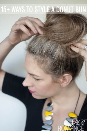 How many ways can you style a donut bun?