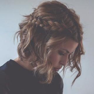 Short hair with braid - Marilou