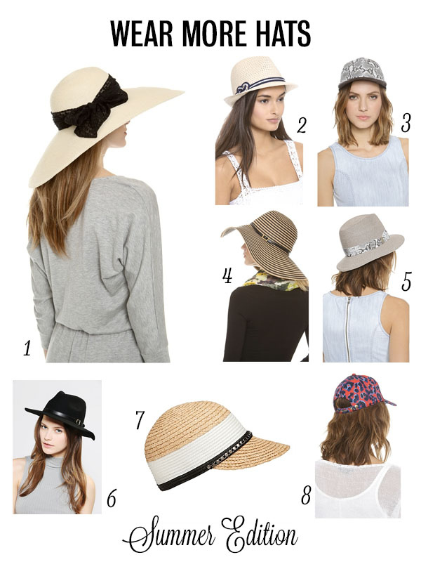 Wear More Hats - Summer edition - Hair Romance