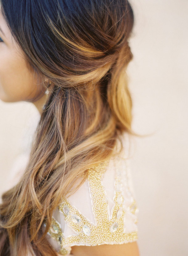 Chic pinned updo