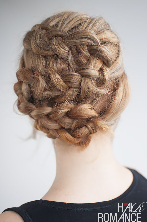 Hair Romance - twisting braid hairstyle