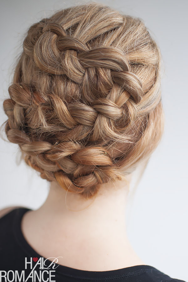 Hair Romance - twisting braids hairstyle