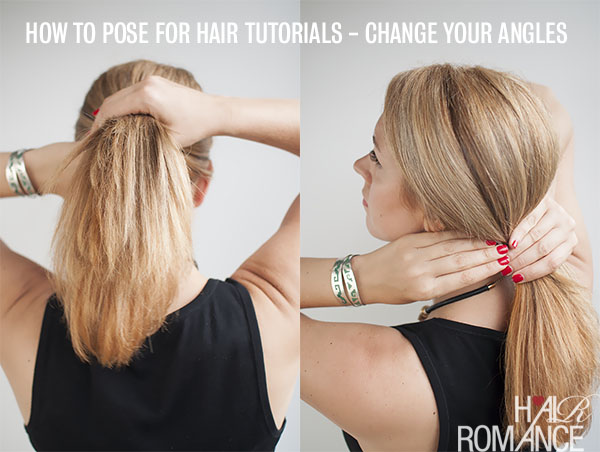 How to pose when shooting beauty tutorials - Hair Romance