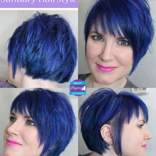 Phyrra - how to grow out a pixie cut