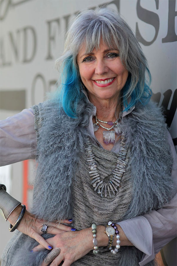 Dolores Forsythe and her fabulous blue hair
