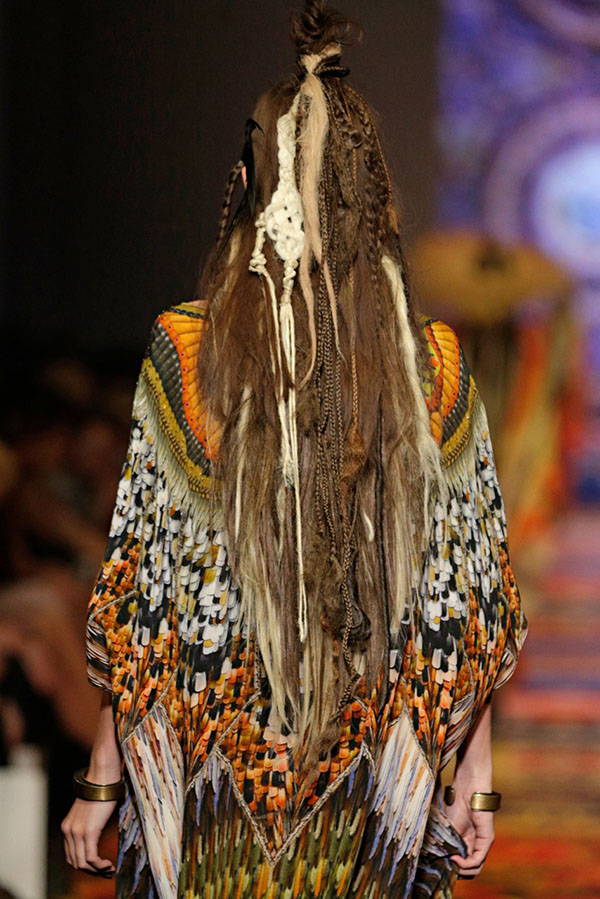 Big Hair Friday - Tribal dreads at Camilla VAMFF 2