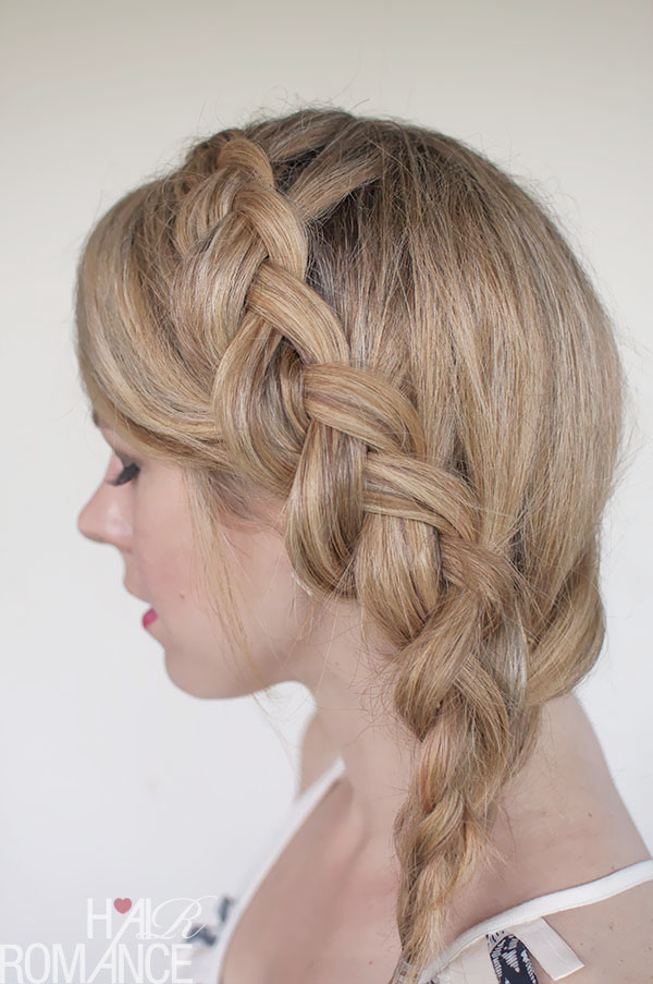 Hair Romance - a Dutch mermaid braid hairstyle tutorial