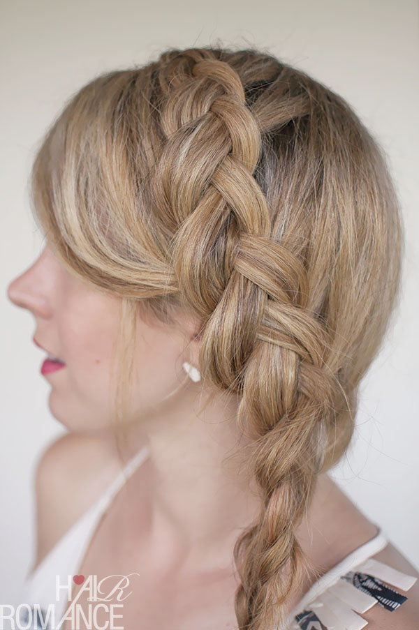 Hair Romance - new Dutch mermaid side braid tutorial