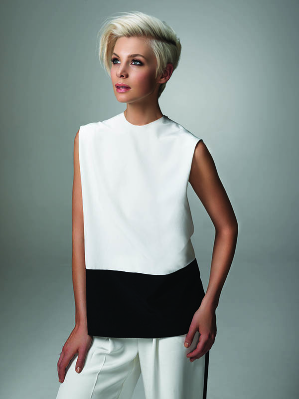 Hair Romance - short hair colour trebnds - platinum