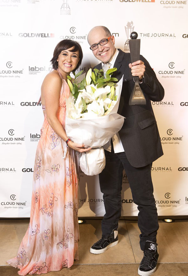 AHFA Emiliano Vitale - Hairdresser of the Year 2014