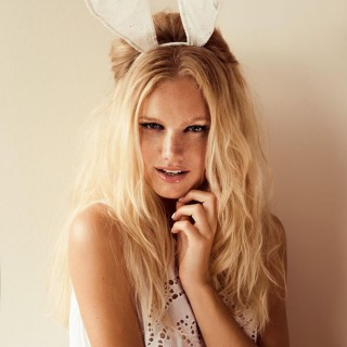 Bunny ears shot by Zanita for Stylestalker