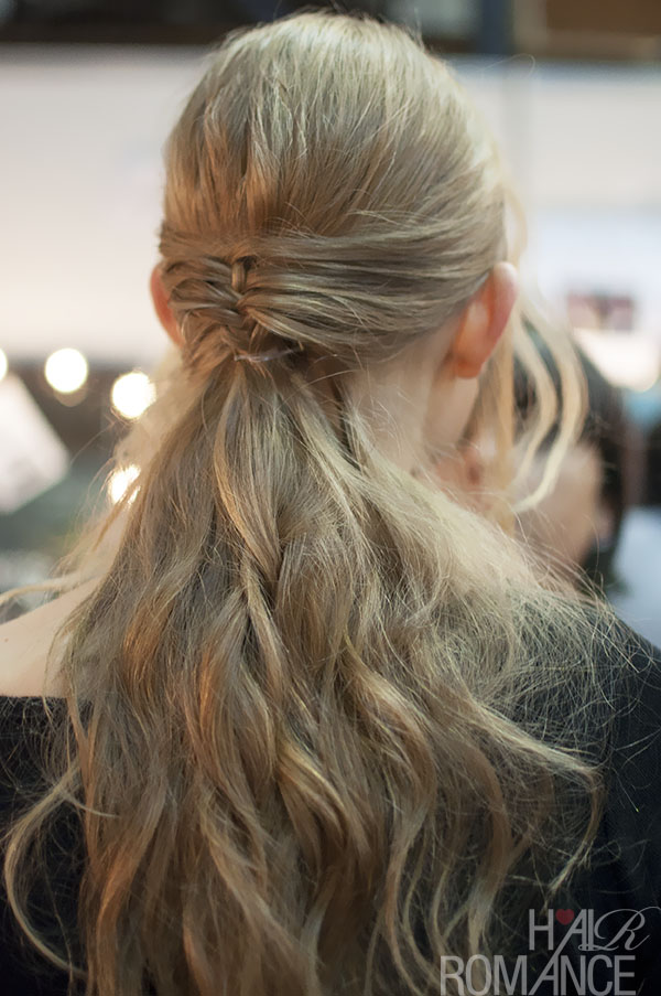 Hair Romance - MBFWA 2013 flashback 4