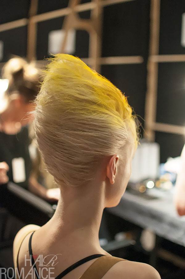 Hair Romance - MBFWA 2013 flashback 6