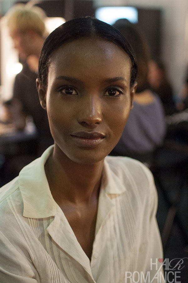 Hair Romance - Scenes from MBFWA 2014 Day 2 - Backstage at Christopher Esber