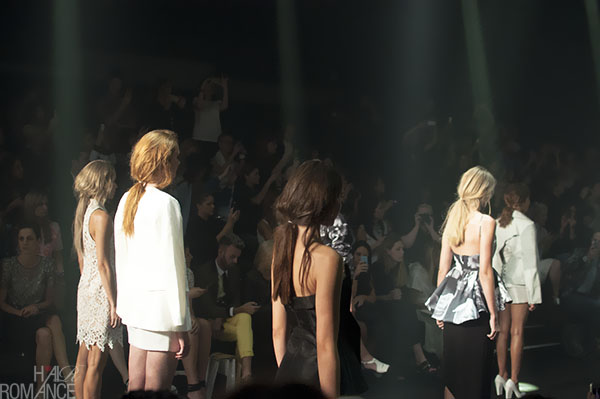 Hair Romance - Scenes from MBFWA 2014 Day 2 - Messy ponies at Cameo the label