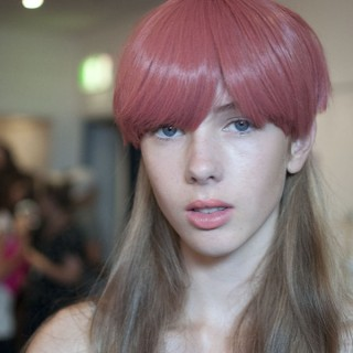 Hair Romance - Scenes from MBFWA 2014 Day 3 - 90s mullets at Emma Mullholland