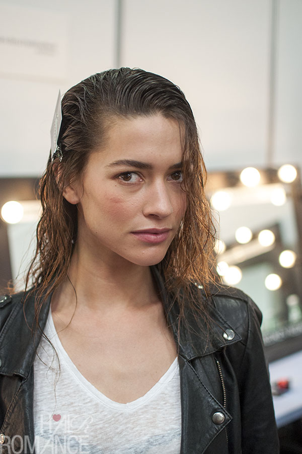 Hair Romance - Scenes from MBFWA 2014 Day 3 - Sexy glamourous wet hair at Jayson Brundson
