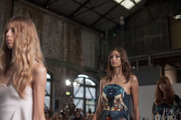 Hair Romance - Scenes from MBFWA 2014 Day 4 - The final walk at Alice McCall