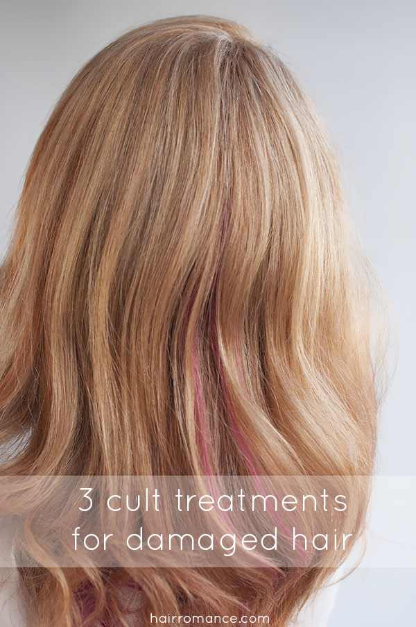 Hair Treatment For Damaged Hair ~ Cult products that will save your damaged hair