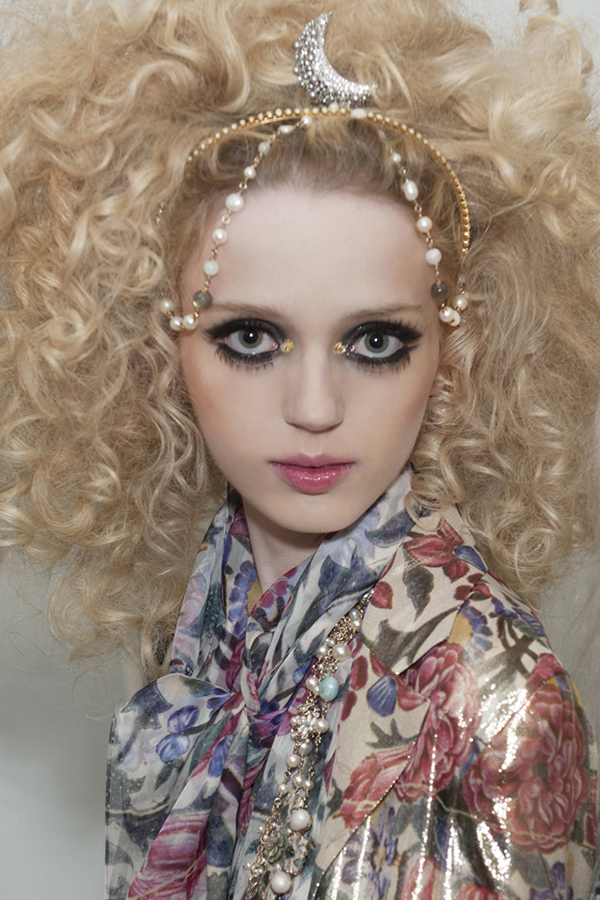 Big Hair - Chanel Cruise Dubai 2014 1