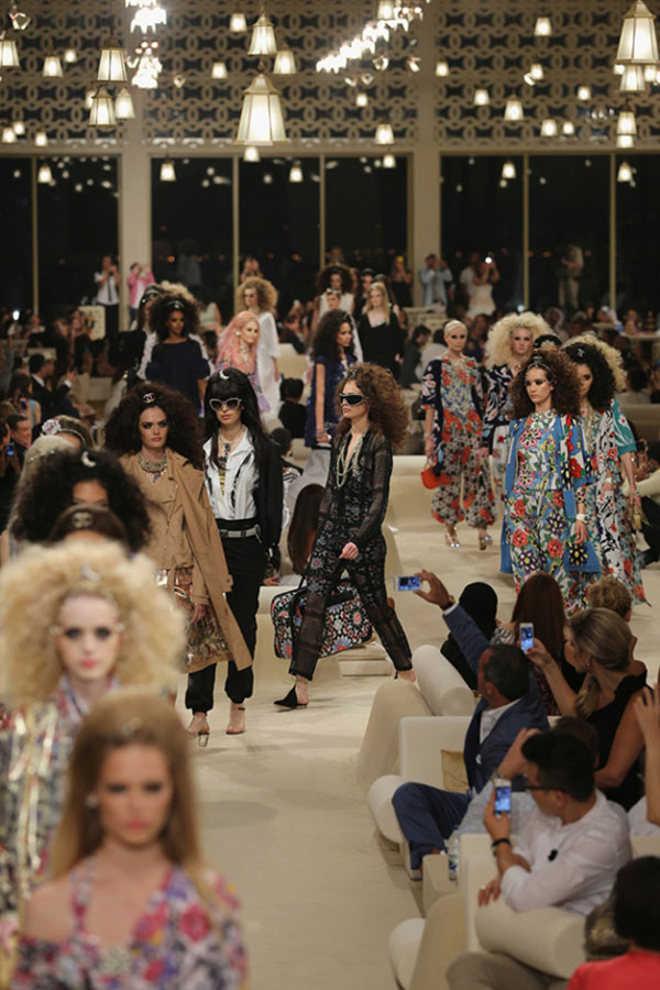 Chanel Cruise Dubai 2014 runway