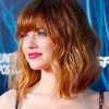 Emma Stone - gorgeous bob haircut and that colour