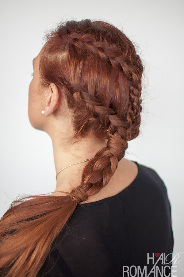 Hair Romance - Game of Thrones hairstyle - Khaleesi braids