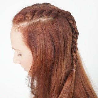 Hair Romance - Game of Thrones hairstyle tutorials - Sansa Stark - braids