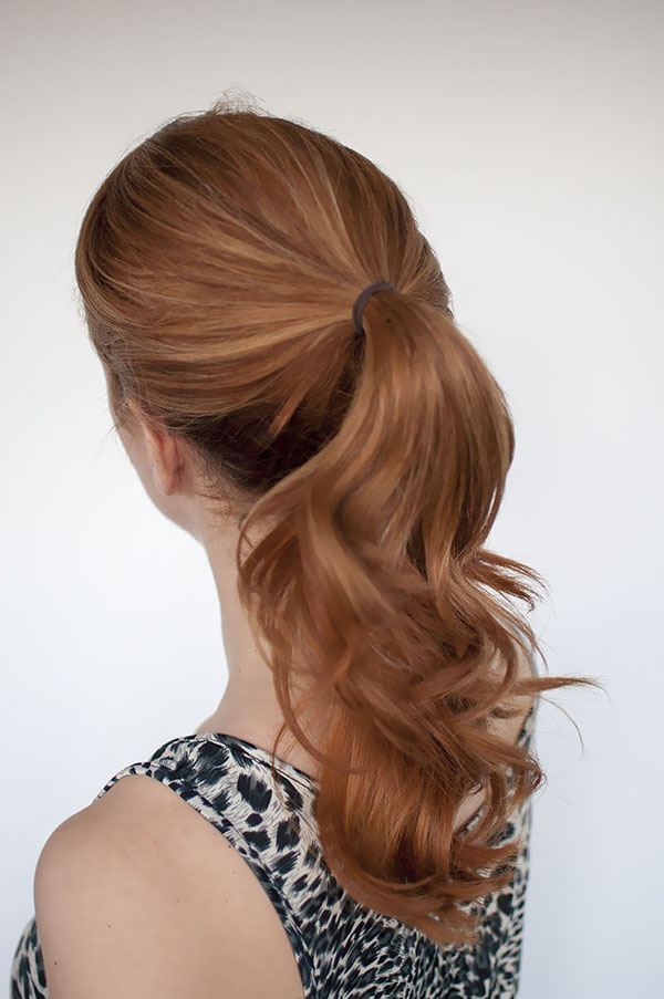 Hair Romance - 1 trick ponytail hairstyle